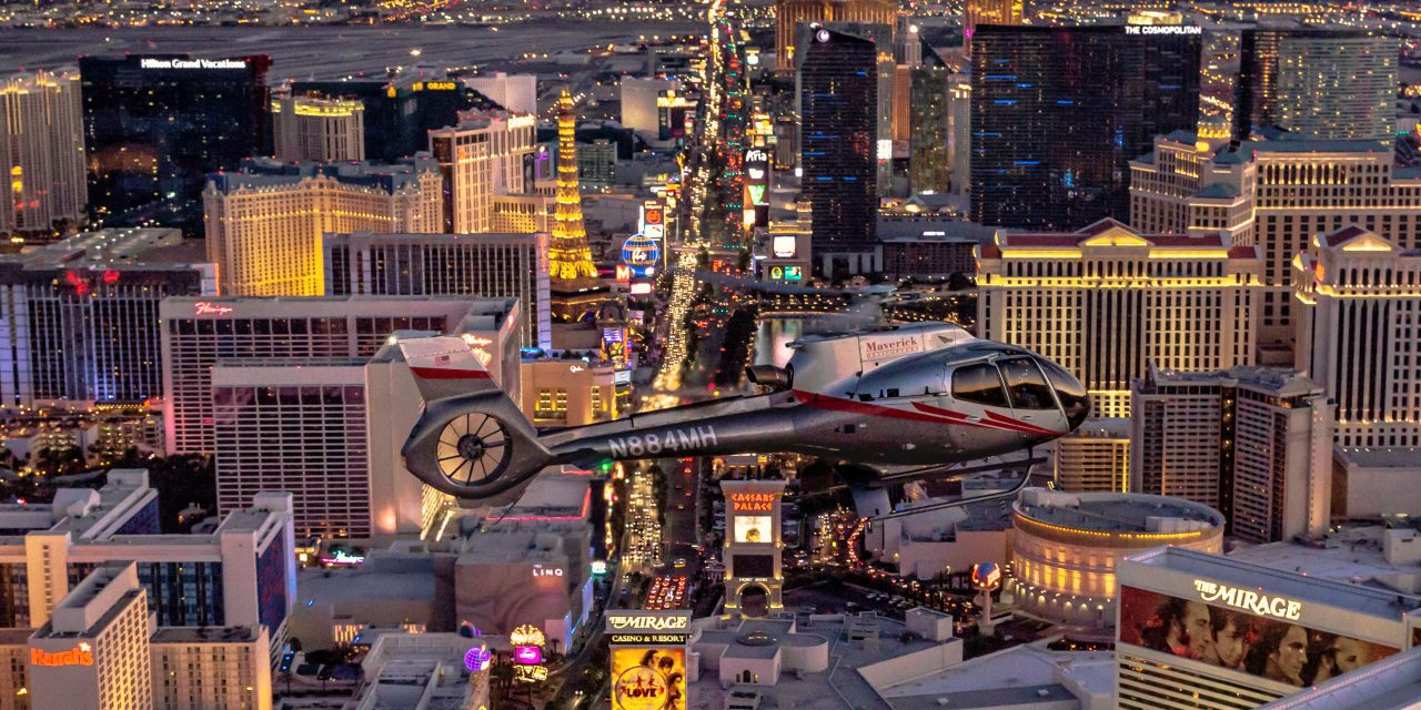 Maverick Helicopters & Lip Smacking Foodie Tours launch Savory Bites & Neon Lights