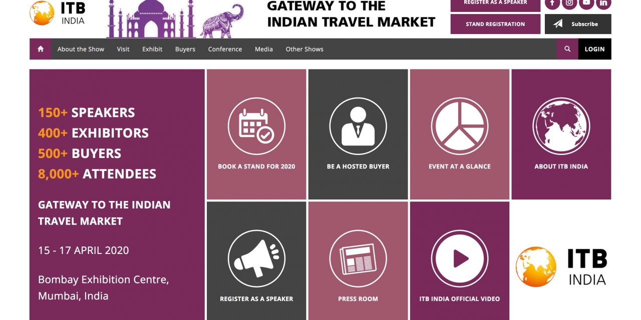 ITB India All Set to Debut in 2020 – Unravel Travel TV