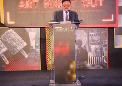 IT&CMA 2019 Opening Ceremony, Bangkok Art Night Out recorded at the Bangkok Art & Culture Centre Bangkok Thailand - Unravel Travel TV IMG_5424