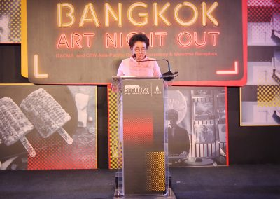 IT&CMA 2019 Opening Ceremony, Bangkok Art Night Out recorded at the Bangkok Art & Culture Centre Bangkok Thailand - Unravel Travel TV IMG_5431