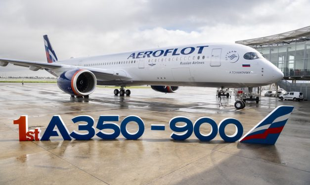 Airbus A350-900 Aeroflot aircraft in the making – Unravel Travel TV