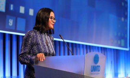Natalia Bayona, 112th UNWTO Executive Council – Tbilisi, Georgia, 2020 – Unravel Travel TV