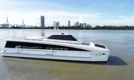 New environment-friendly electric ferries on Bangkok's Chao Phraya River – Unravel Travel TV