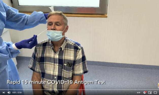 Rapid 15-minute COVID-19 Antigen Test – Unravel Travel TV