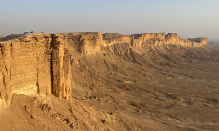 The Edge of the World, Riyadh, Saudi Arabia – Unravel Travel TV